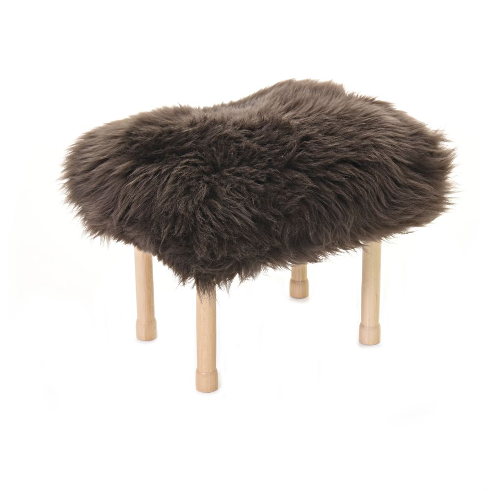 Megan Baa Stool in Mink