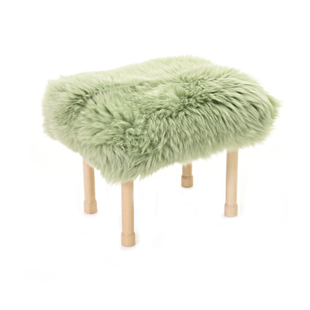 Megan Baa Stool in Sage