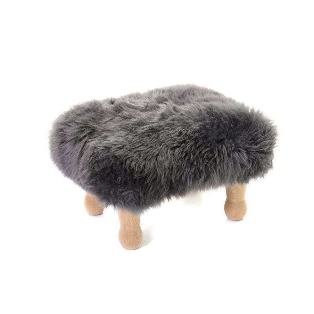 Angharad Baa Stool in Slate Grey