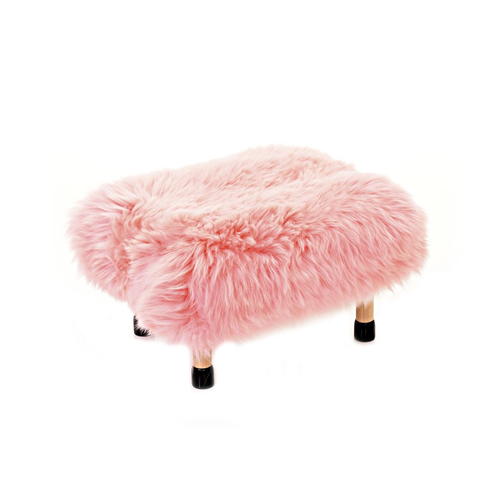 Nia Sheepskin Footstool by Baa Stool