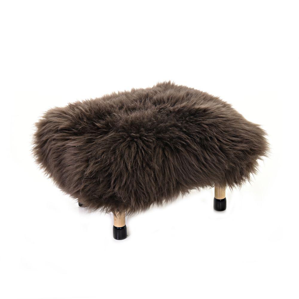 Nia Sheepskin Footstool by Baa Stool