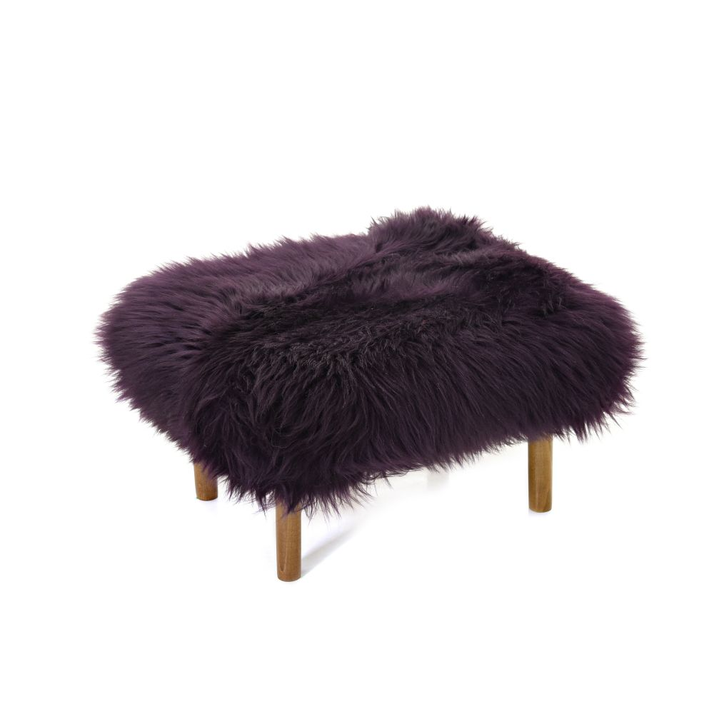 Bronwen Sheepskin Footstool  by Baa Stool