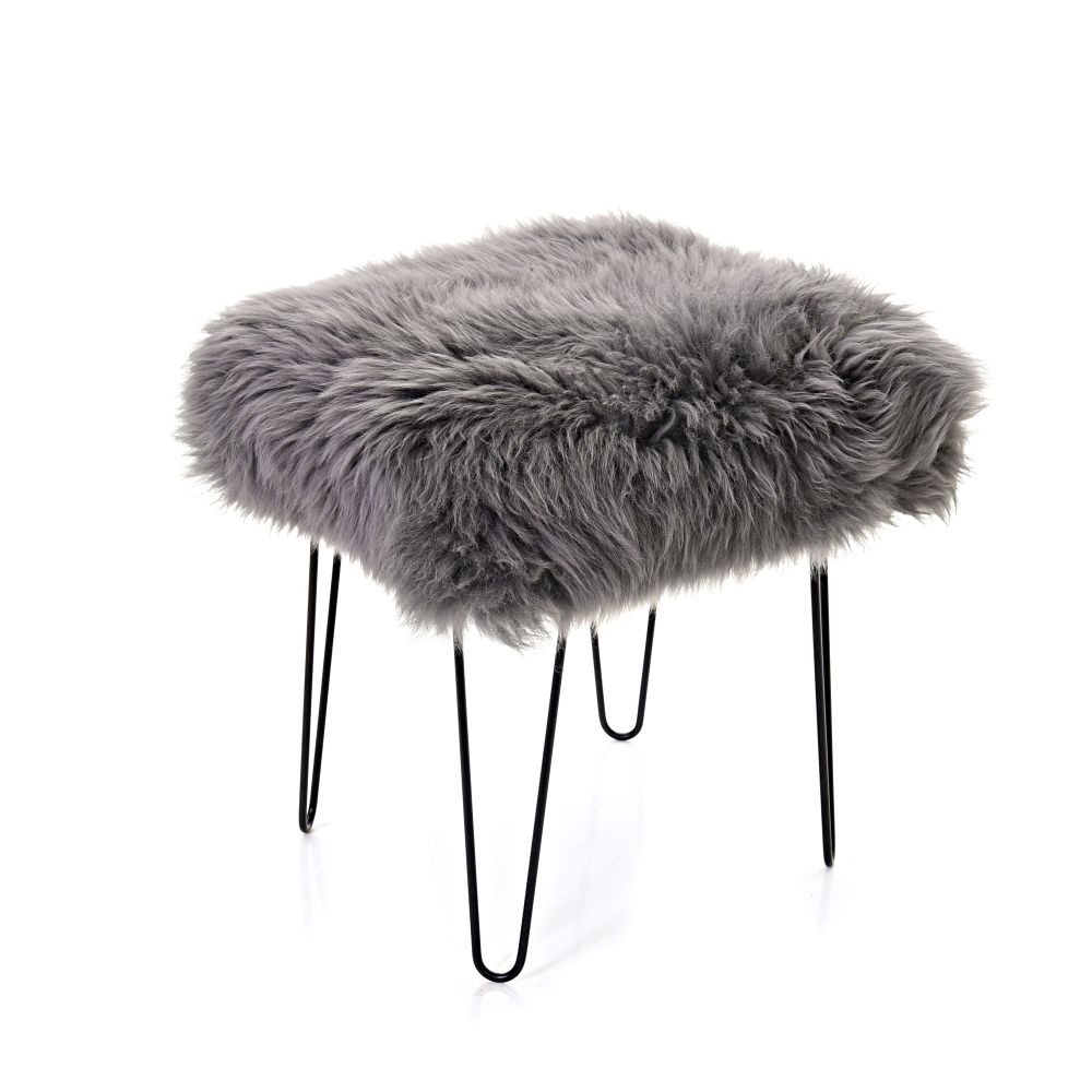 Ffleur Sheepskin Footstool  by Baa Stool