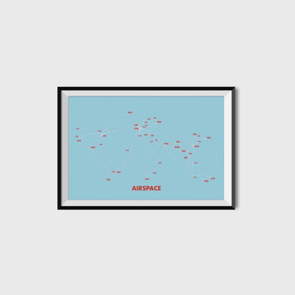 Airspace Print by UNTITLED STORY