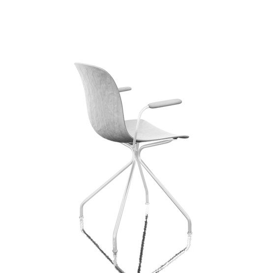 Troy chair with arms - 4 Star Base by Magis Design