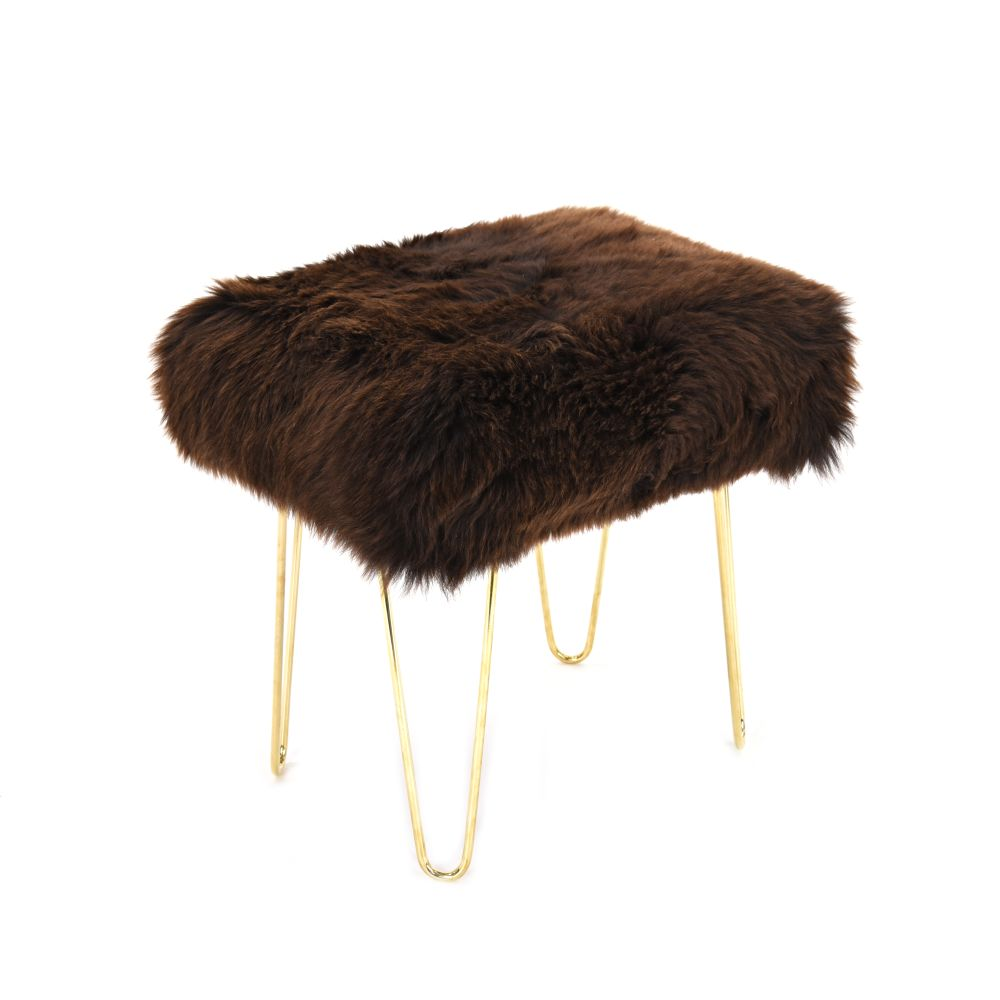 Judy Baa Stool in Chocolate