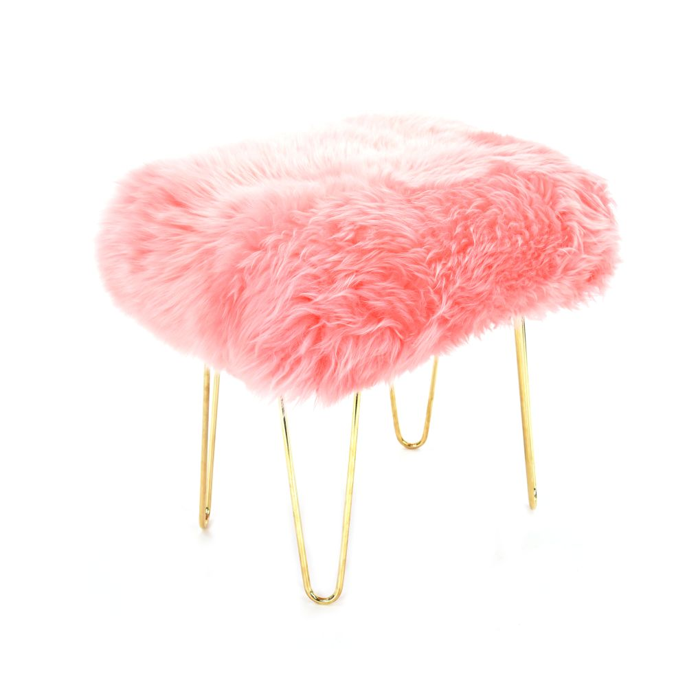 Judy Baa Stool in Baby Pink