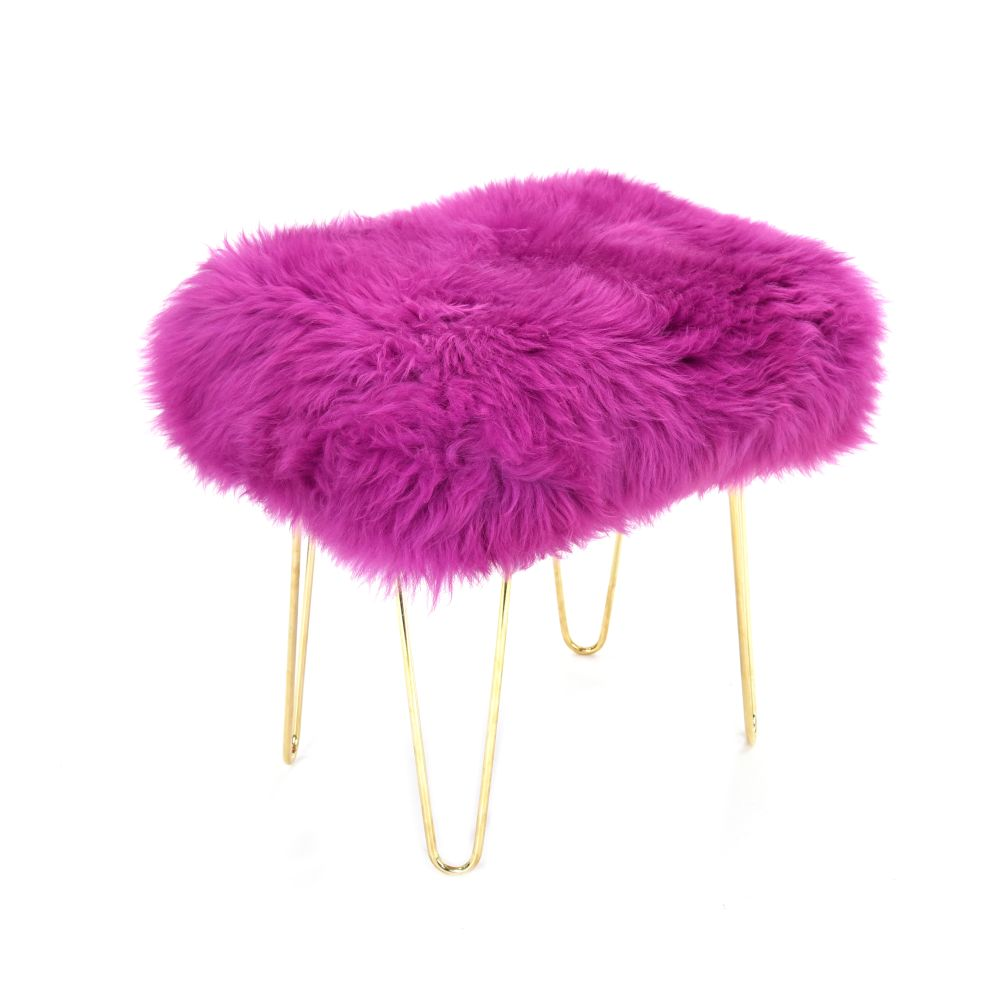 Judy Baa Stool in Cerise