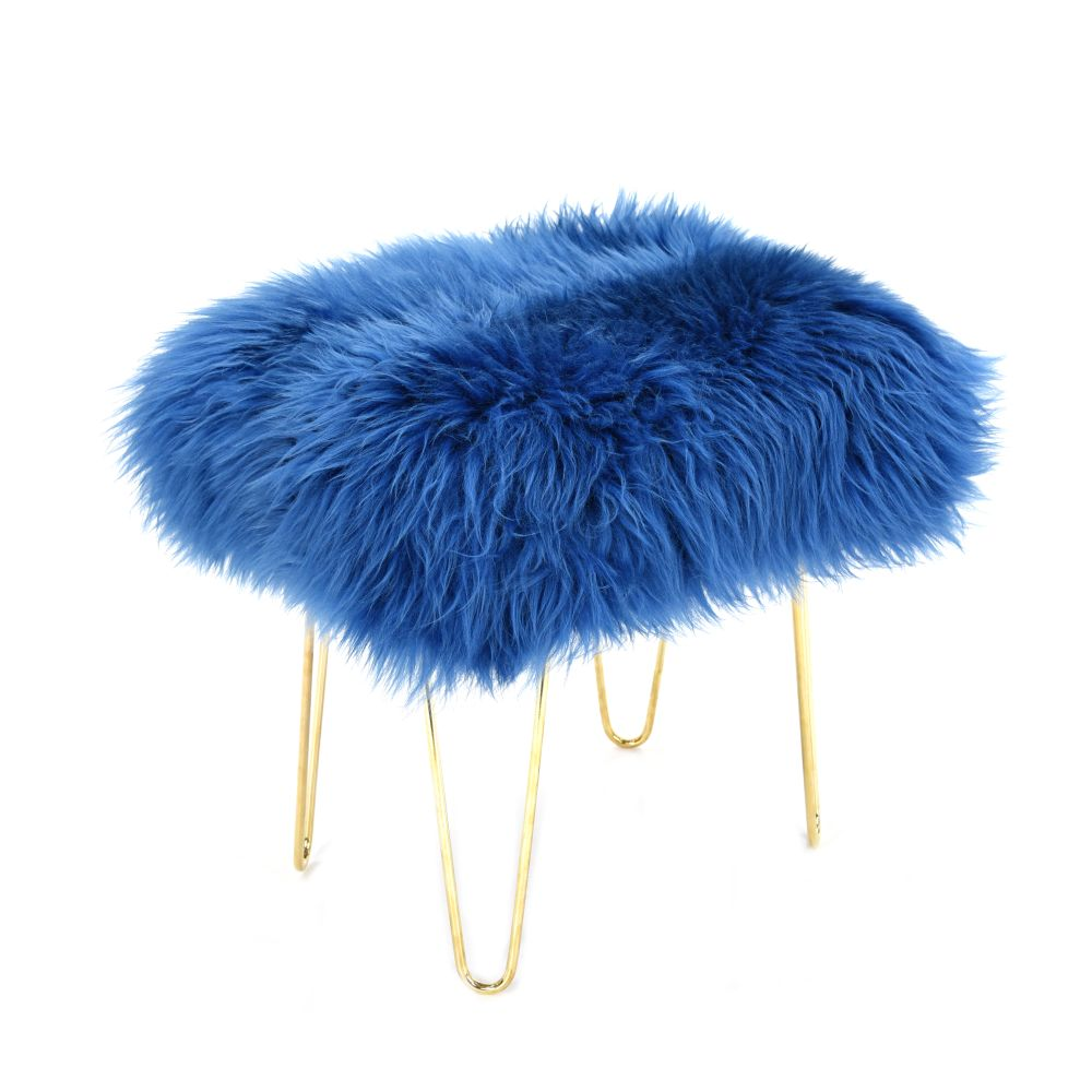 Judy Baa Stool in Cornflower Blue
