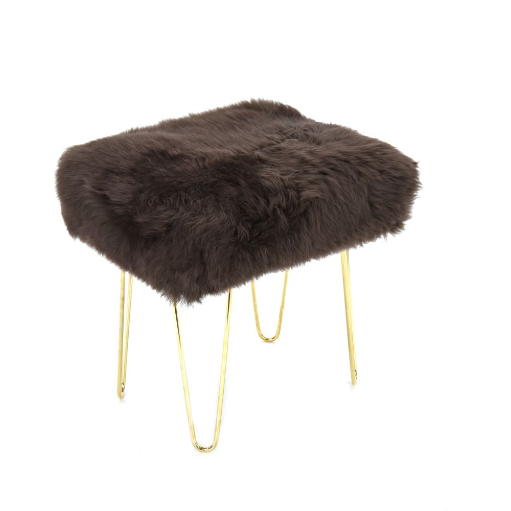 Judy Baa Stool in Mink