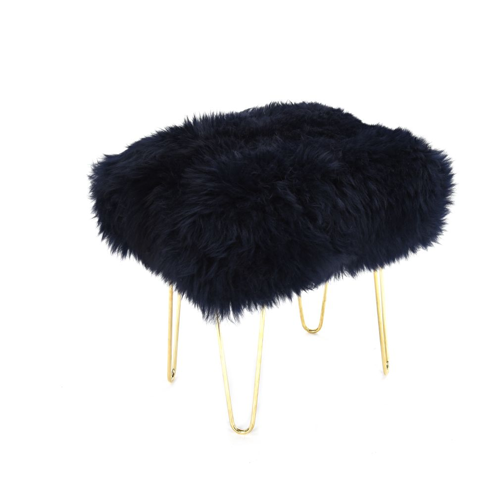 Judy Sheepskin Footstool  by Baa Stool