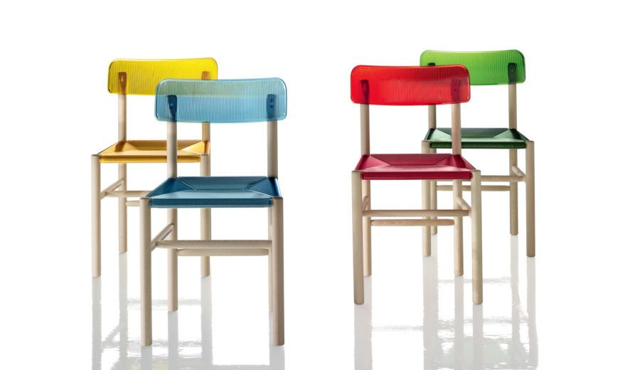 Trattoria Dining Chair - Set of 2 by Magis Design