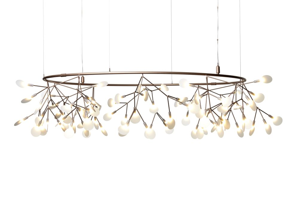 Heracleum small big o pendant light copper 4 m cable by moooi aloadofball Choice Image