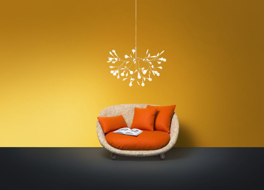 heracleum ii small pendant light copper 4 m cable length by moooi