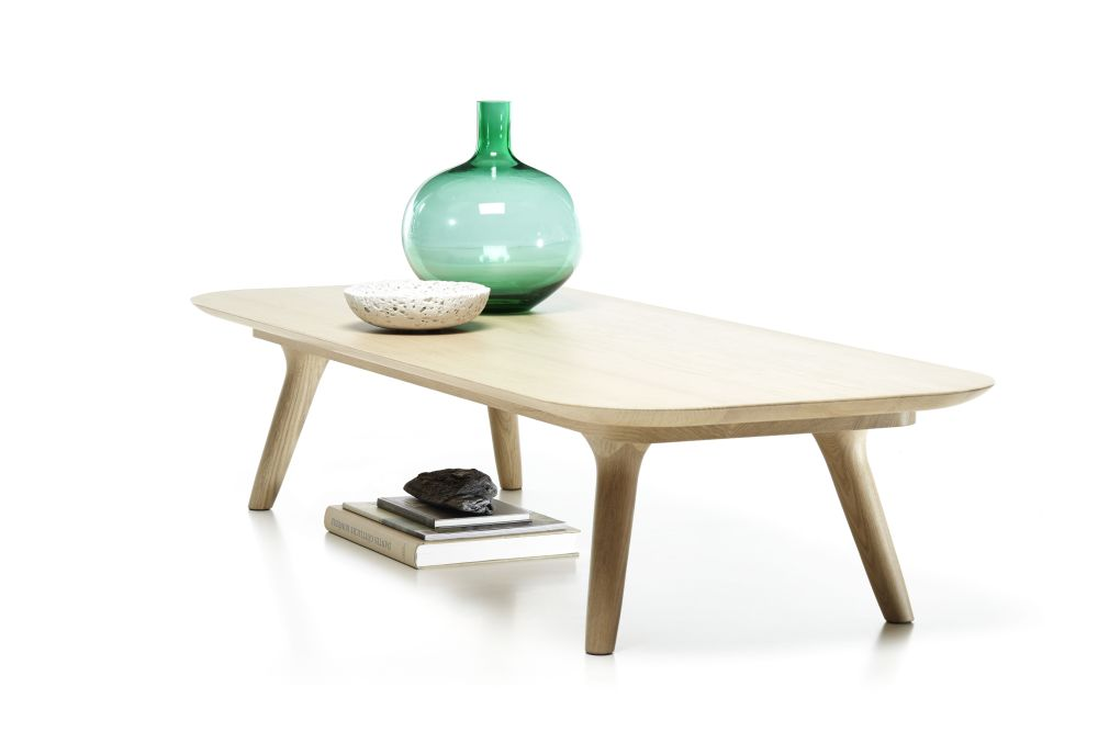 Zio Coffee Table - Rectangular by moooi