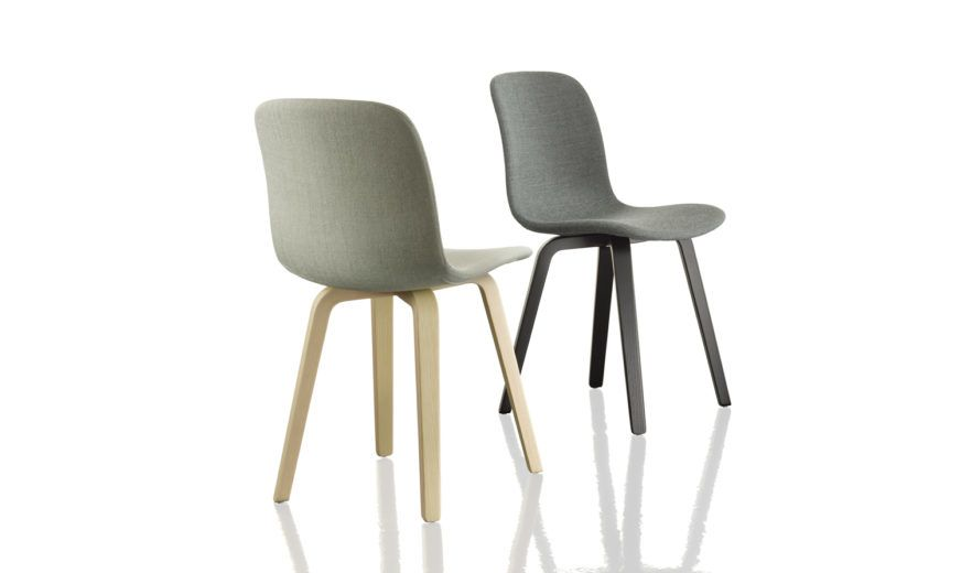 Substance Dining Chair with Upholstered Seat - Set of 2 by Magis Design