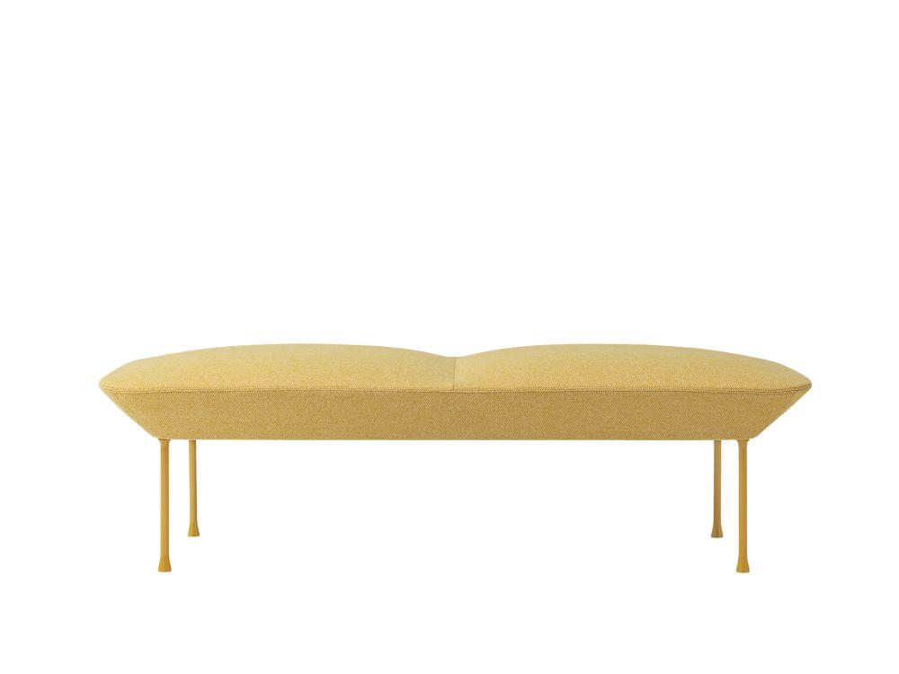 Oslo Sofa Bench by Muuto