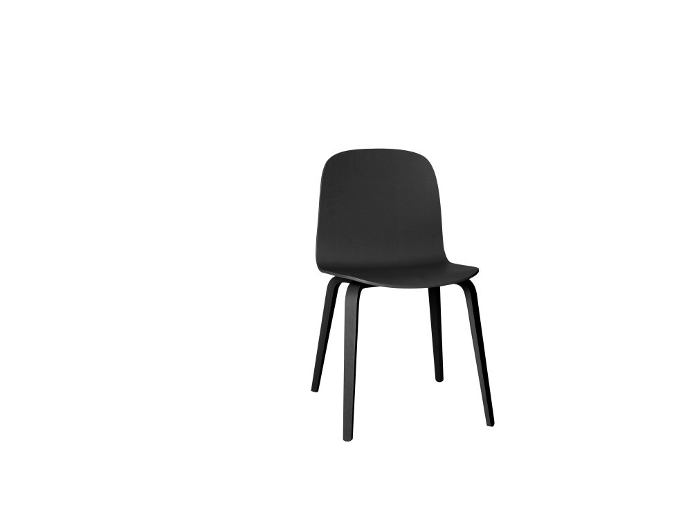 Visu Chair Wood Base by Muuto
