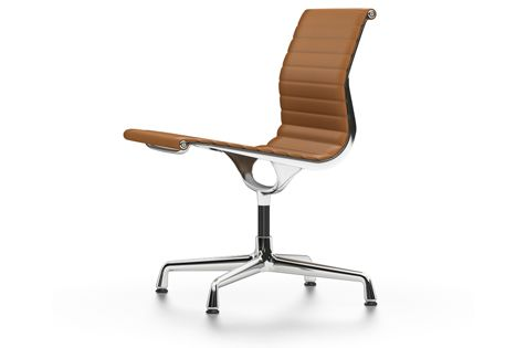 EA 105 Aluminium Chair - non Swivel, Without Arms by Vitra