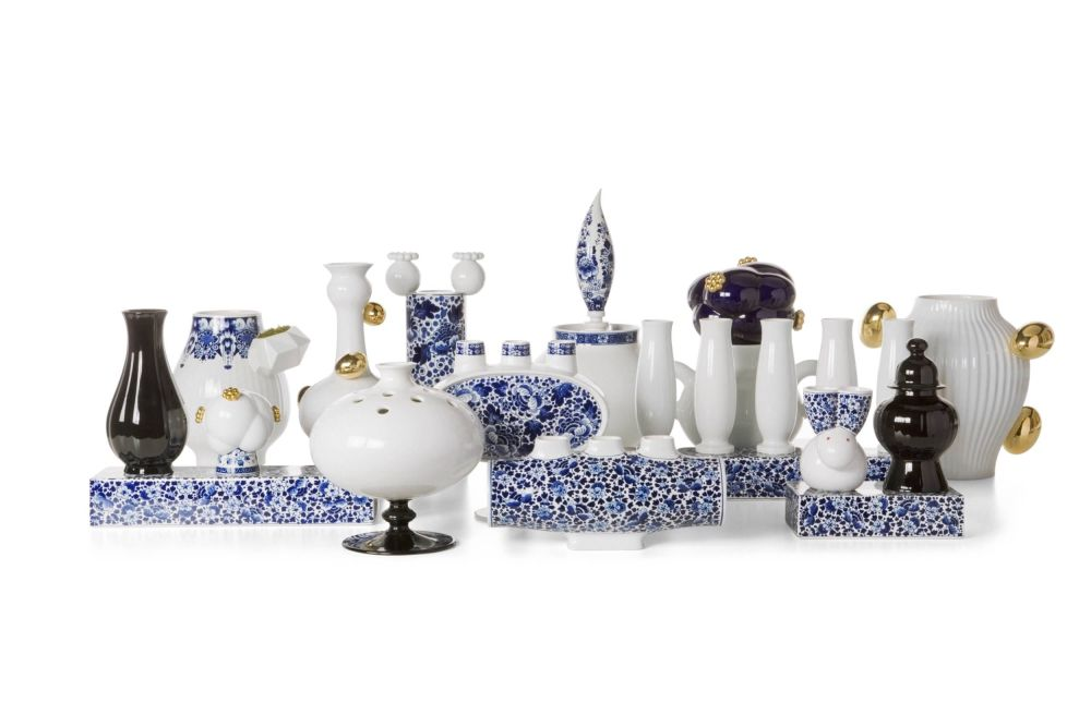 Delft Blue Vase 7 by moooi