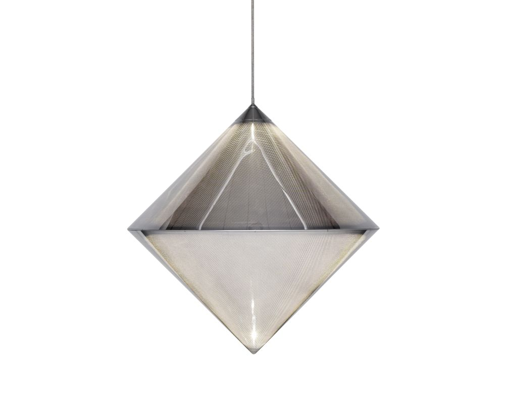 Top Silver Pendant Light by Tom Dixon