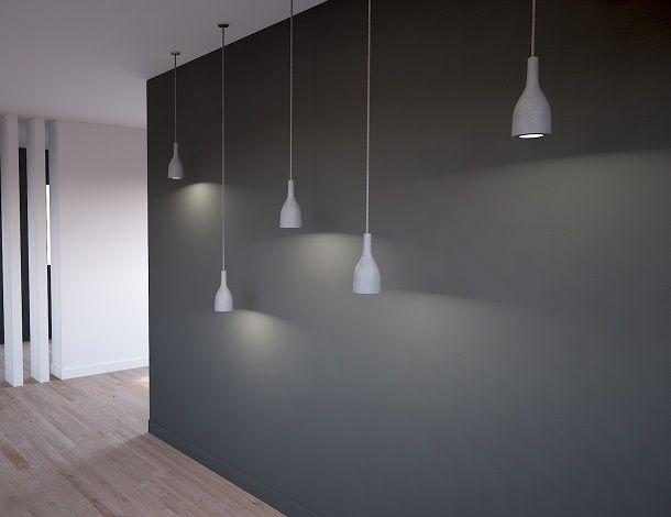 Ampulla Concrete Pendant Light by URBI ET ORBI