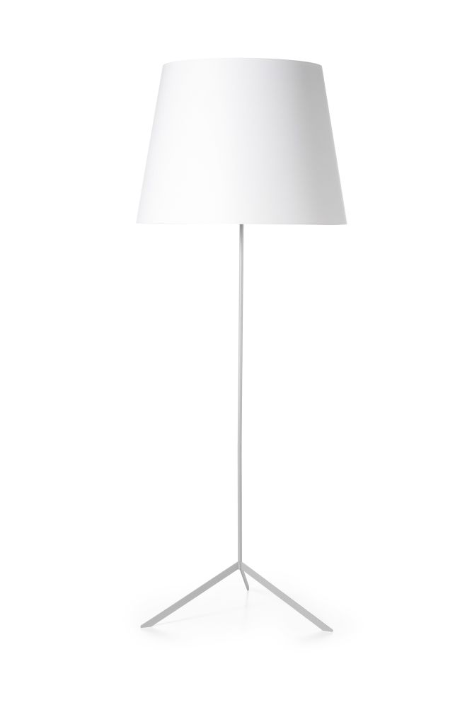Double shade floor lamp white by marcel wanders for moooi aloadofball Choice Image
