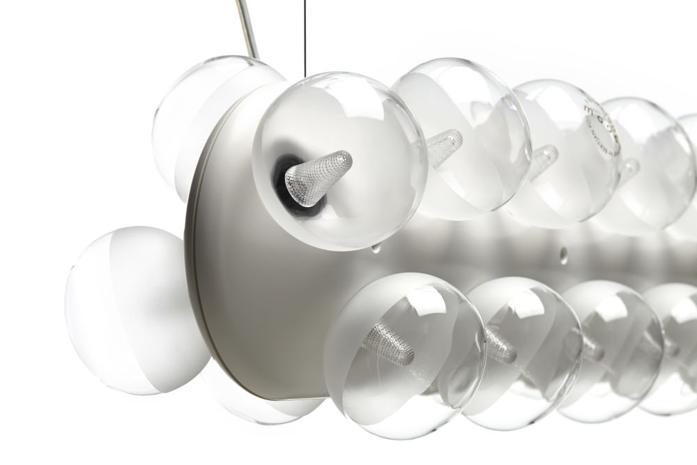 Prop Pendant Light - Double, Horizontal by moooi