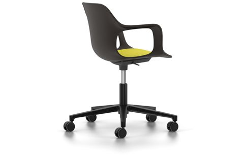 HAL Armchair Studio with Seat Upholstery by Vitra