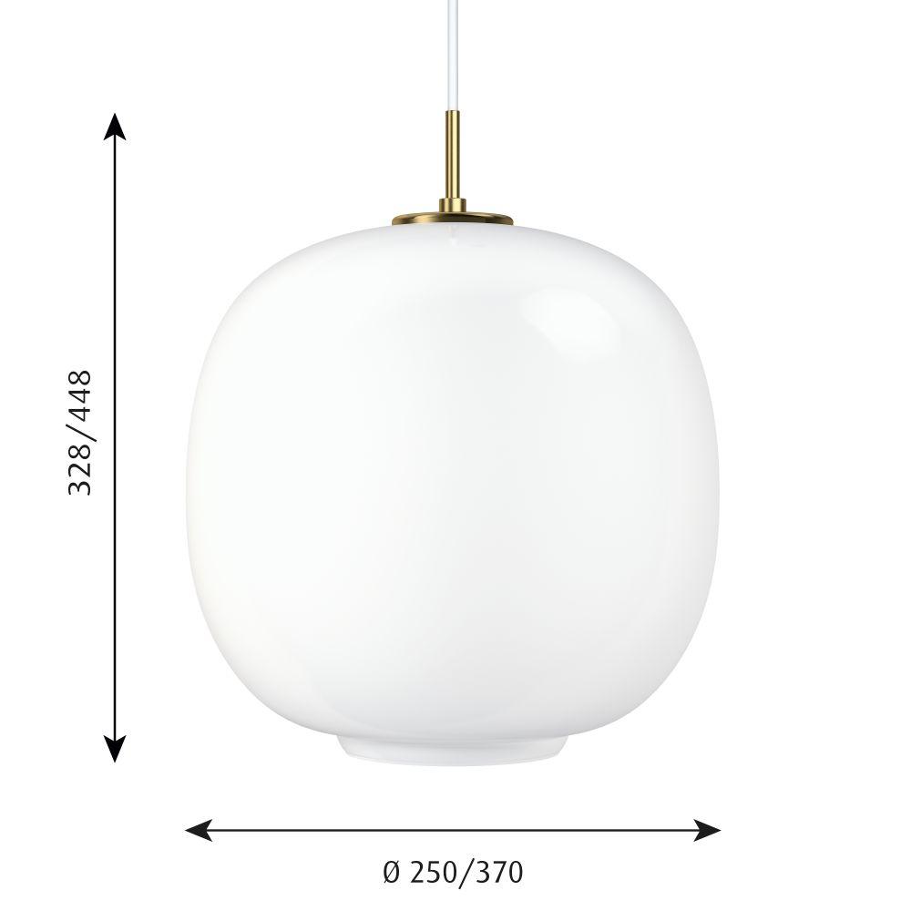 VL45 Radiohus Pendant Light by Louis Poulsen