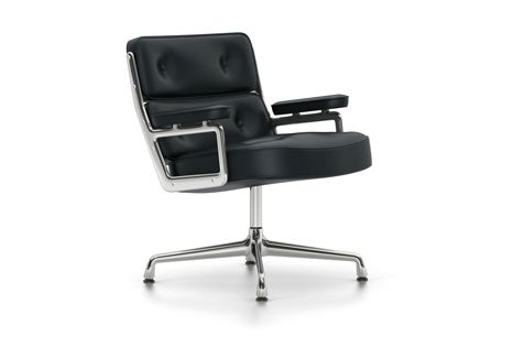 ES 105 Lobby Chair - Swivel, With Armrests by Vitra