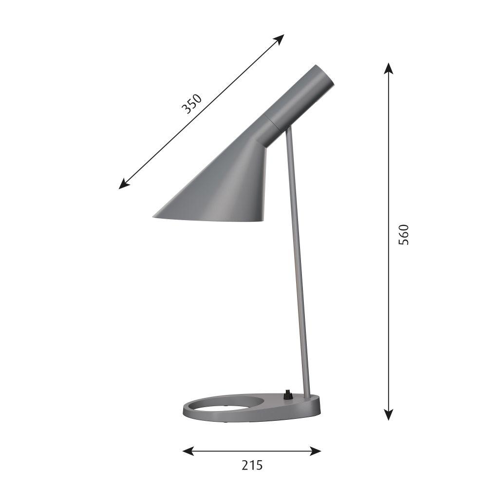 AJ Table Lamp by Louis Poulsen