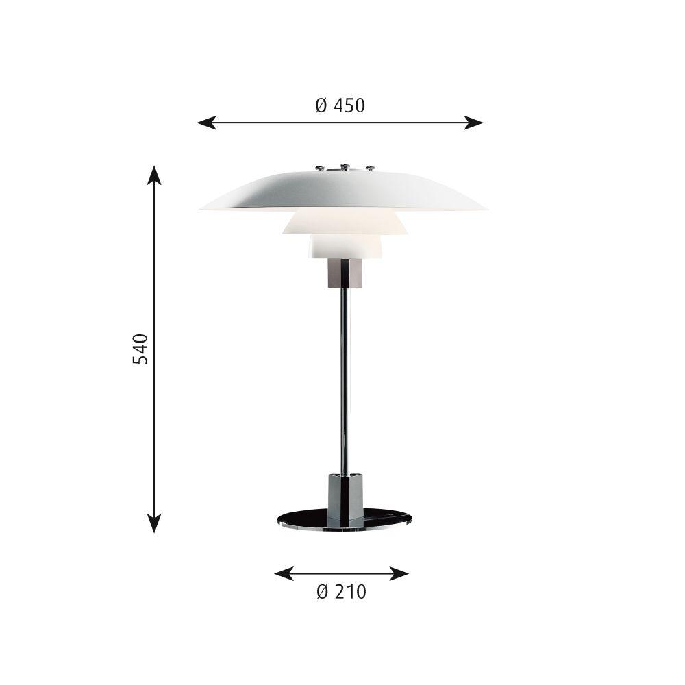 PH 4/3 Table Lamp by Louis Poulsen