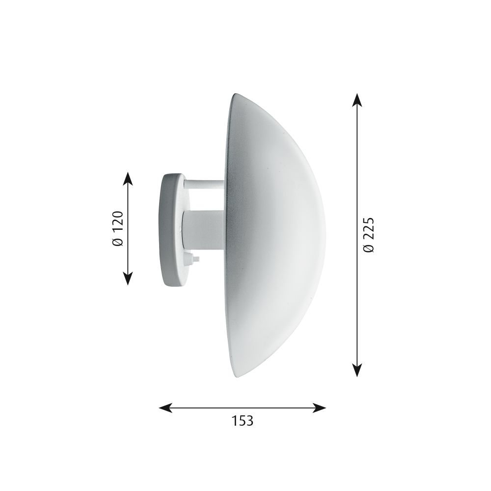 PH Hat Wall Light by Louis Poulsen