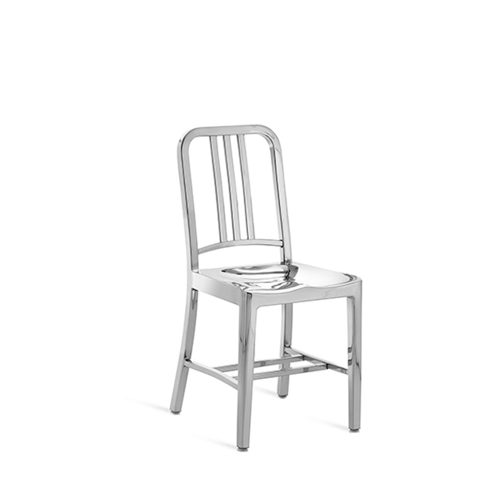 1006 Navy Dining Chair by Emeco