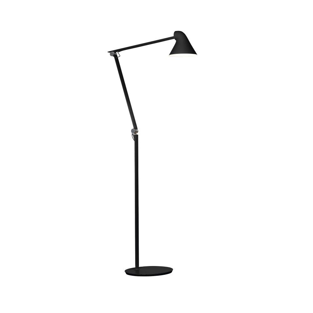 Njp floor lamp black by nendo for louis poulsen mozeypictures Choice Image
