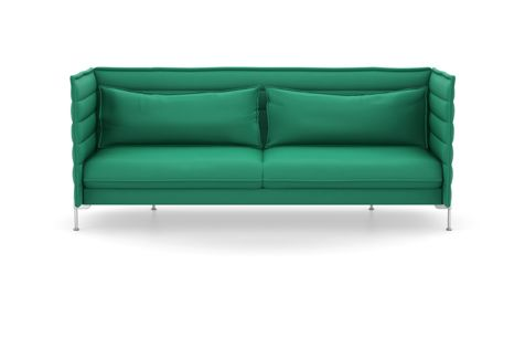 Alcove Three-Seater, Lounge Upholstery by Vitra