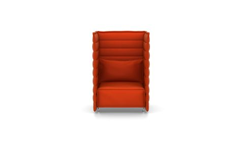 Alcove Plume Contract Highback Fauteuil by Vitra