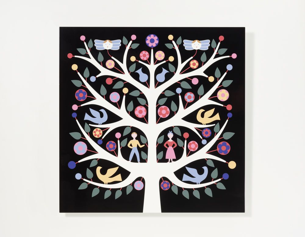 Graphic Wall Panel by Vitra