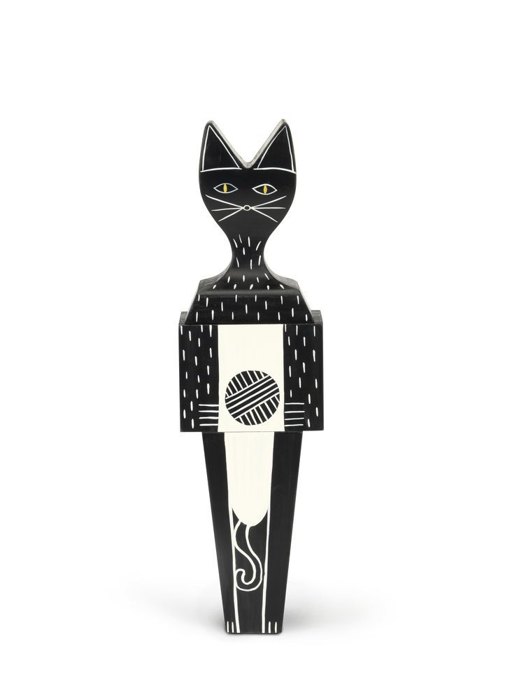 Wooden Doll With Magnets by Vitra