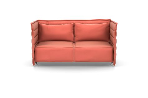 Alcove Plume Contract Two-Seater by Vitra