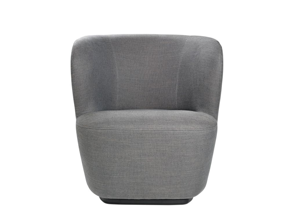 Stay Lounge Chair - Small Returning Swivel from Gubi