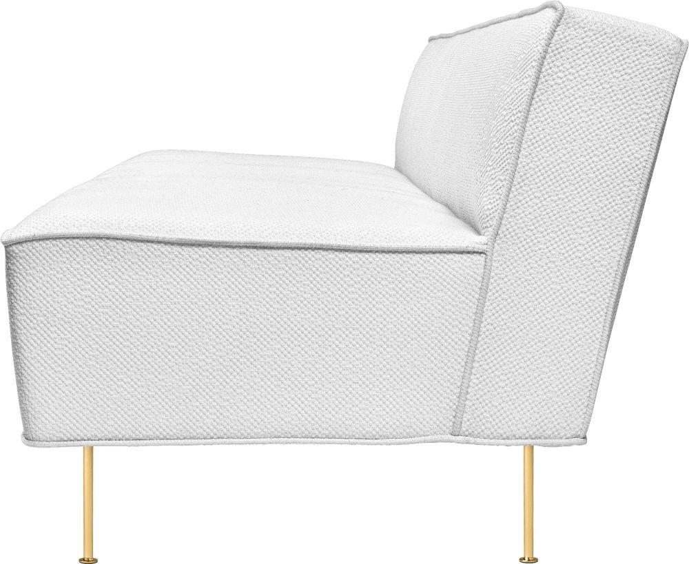 Modern Line Sofa by Gubi