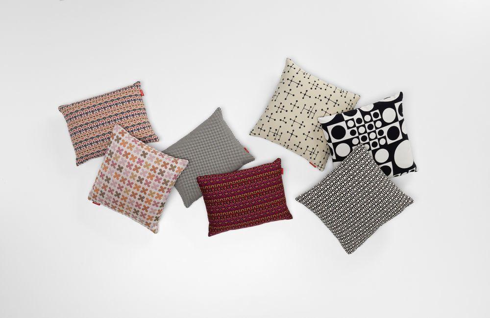 Small Dot Pattern Document Reverse Classic Pillow Maharam by Vitra
