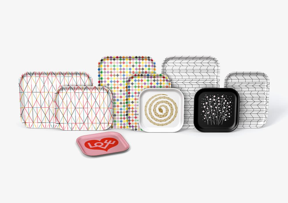 Graph Classic Tray by Vitra