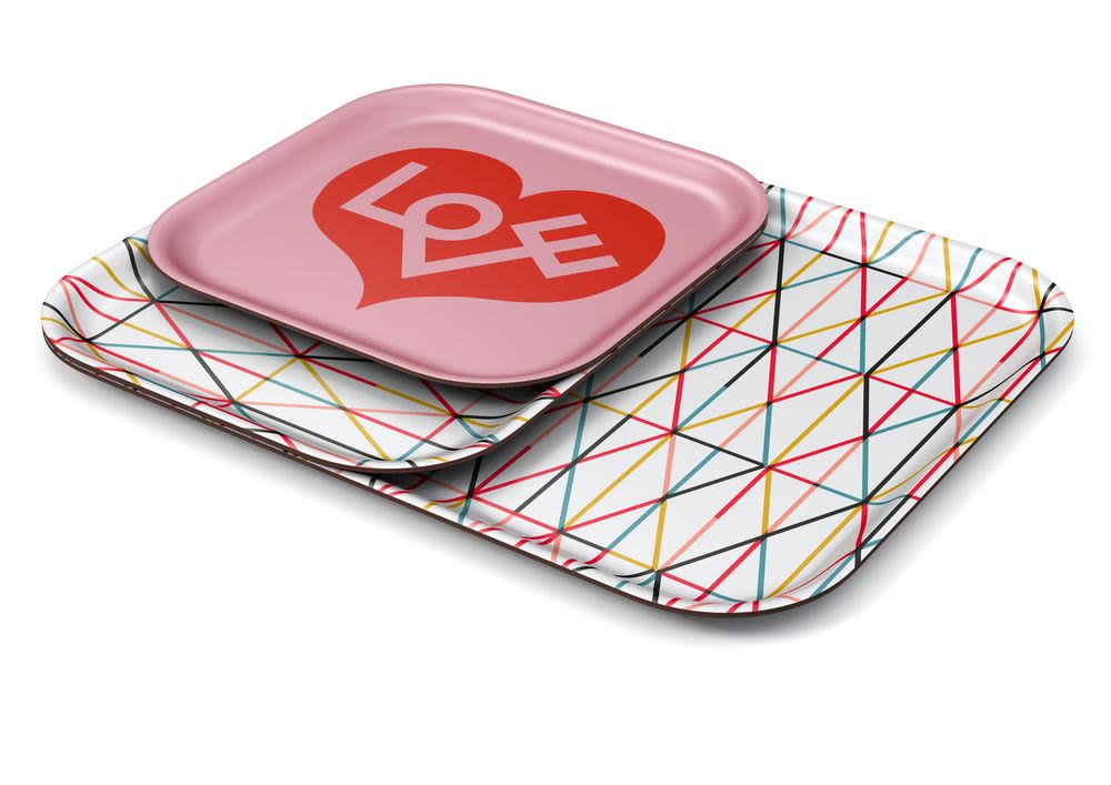 Grid Multicolour Classic Tray by Vitra