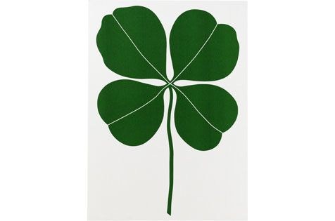Four Leaf Clover Environmental Wall Hanging by Vitra