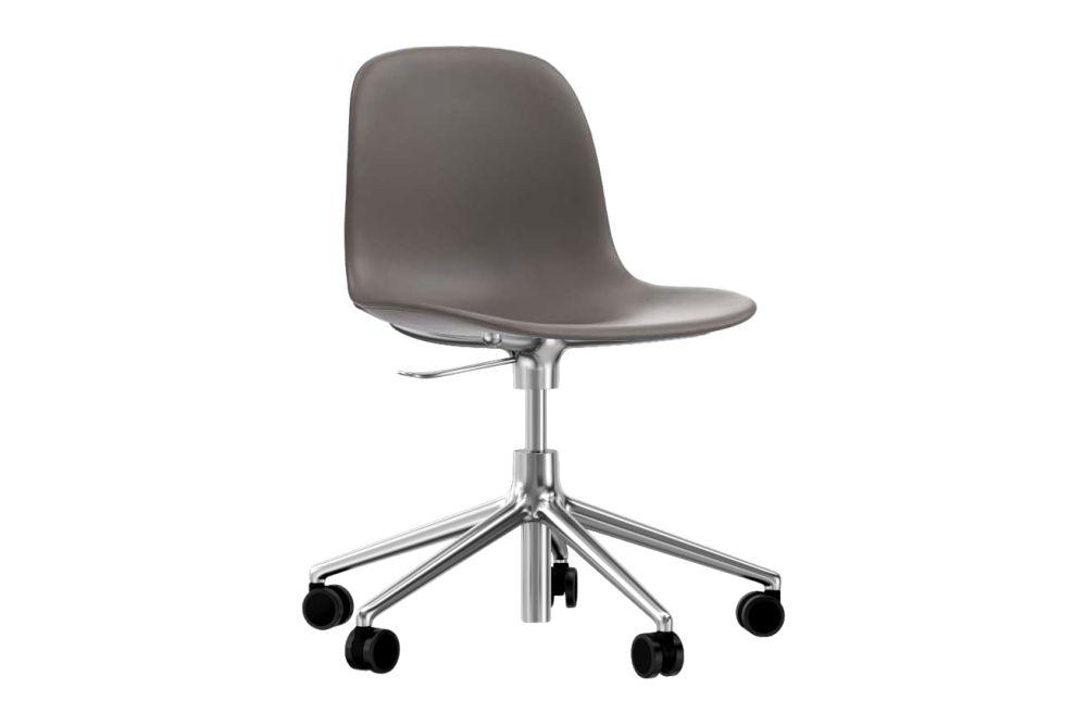 Form Swivel Chair 5W Gaslift - Fully Upholstered by Normann Copenhagen