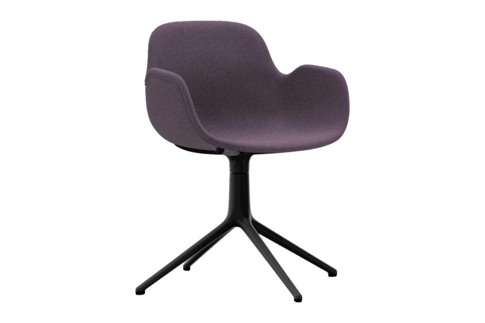 Form Swivel Armchair 4L, Fully Upholstered by Normann Copenhagen