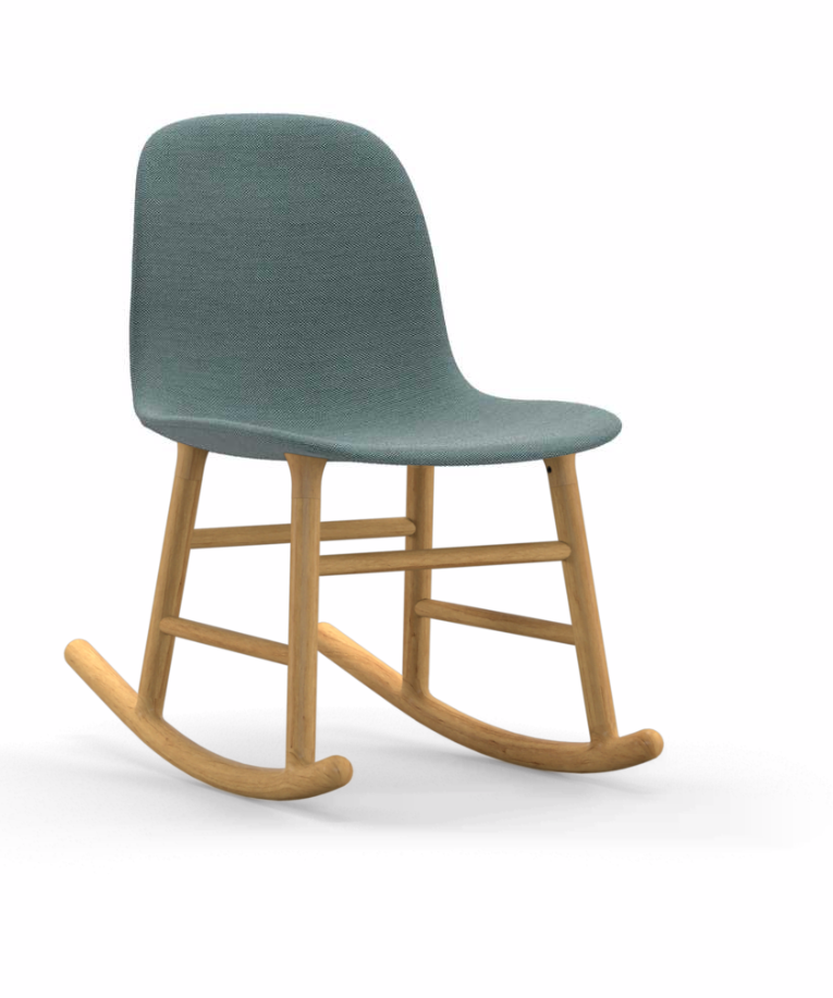 Form Rocking Chair - Fully Upholstered by Normann Copenhagen